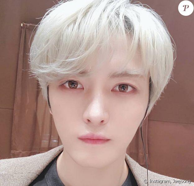 Le chanteur Jaejoong. Février 2020.
