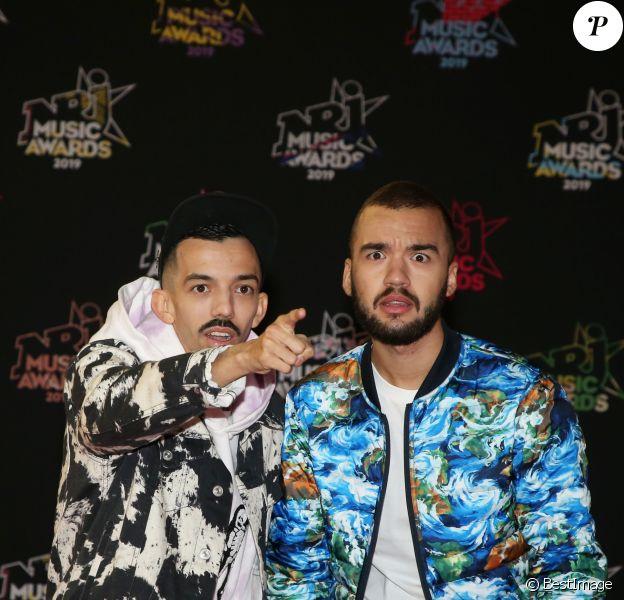Bigflo et Oli - 21ème édition des NRJ Music Awards au Palais des festivals à Cannes le 9 novembre 2019. © Dominique Jacovides/Bestimage