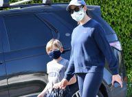 Jennifer Garner : Promenade masquée avec son fils Samuel