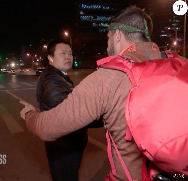 """Julie et Denis, leur chauffeur met leur finale en danger. Emission """"Pékin Express 2020"""", le 7 avril sur M6."""