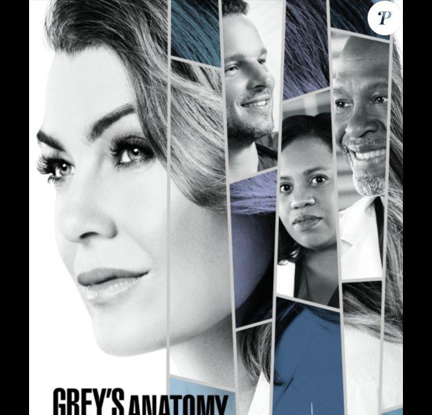 """Affiche officielle de la saison 14 de """"Grey's Anatomy""""."""