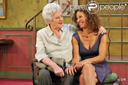 Colette Renard et Sylvie Flepp dans Plus Belle La Vie
