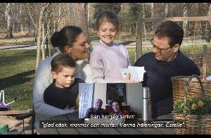 Famille royale de Suède : Au complet en visio pour Pâques, la vidéo dévoilée