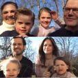 La famille royale de Suède a partagé un extrait de son appel visio pour Pâques, le 12 avril 2020, en pleine période de confinement en raison de la pandémie du coronavirus, et a partagé des extraits de ces moments en famille inédits sur Instagram.