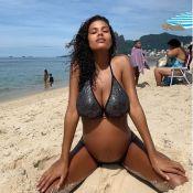 Tina Kunakey, maman d'Amazonie : photos inédites de sa grossesse