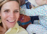 Laura Tenoudji : Moment de complicité avec sa fille Bianca dans son bain
