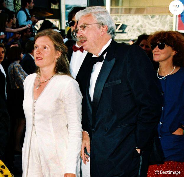 Daniel Toscan du Plantier et sa femme Sophie au Festival de Cannes 1994.