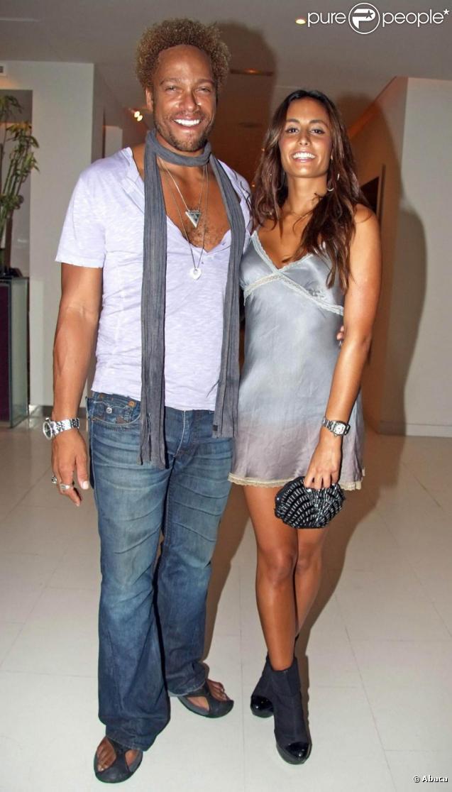 Gary Dourdan et Maria Del Alamo à une soirée privée, à Ibiza. 23/08/09