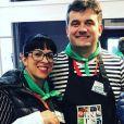 """Pierre et Frédérique de """"L'amour est dans le pré"""" au Salon de l'agriculture - Instagram, 24 février 2019"""