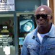 Le chanteur Seal se rend chez le medecin a Beverly Hills, le 16 juillet 2013.