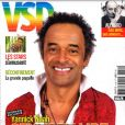"""Yannick Noah en couverture de """"VSD"""", numéro du 30 avril 2020."""