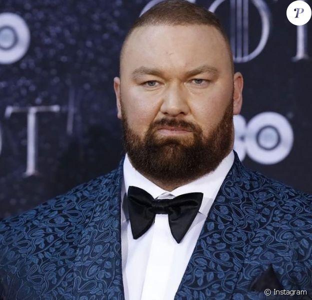 """Hafthor Bjornsso, Gregor """" The Mountain """" Clegane dans Game of Thrones a remporté un record mondial (mai 2020)."""