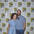 """Ashley Aufderheide, Donald Faison - L'équipe de la série """"Emergence"""" participe au Comic Con de San Diego, le 18 juillet 2019."""