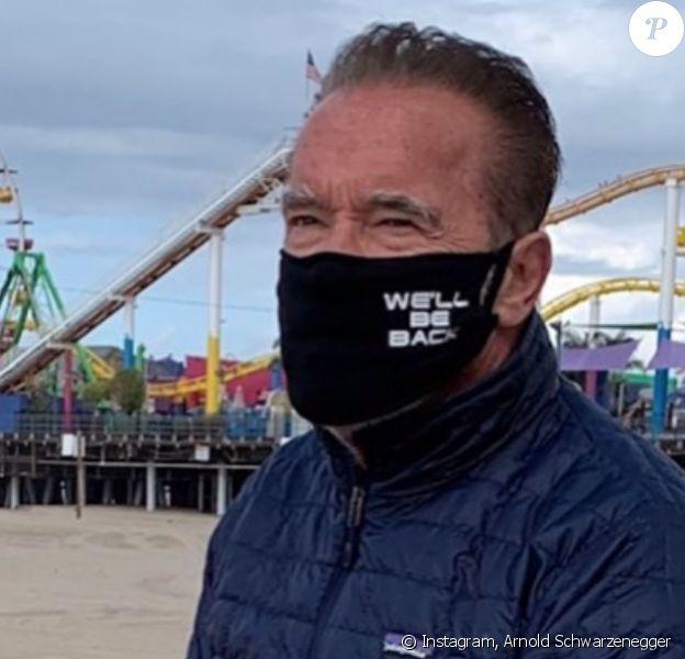 Arnold Schwarzenegger. Avril 2020.