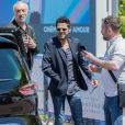 Jamel Debbouze à la sortie de son hôtel lors du 72e Festival International du Film de Cannes, France,le 16 mai 2019.