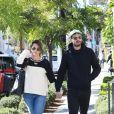 Exclusif - Jamie Dornan et sa femme Amelia Warner dans les rues de West Hollywood, le 23 février 2018.