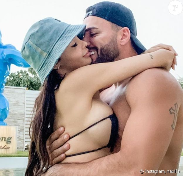 Nabilla Benattia et Thomas Vergara fous amoureux, le 11 mai 2020