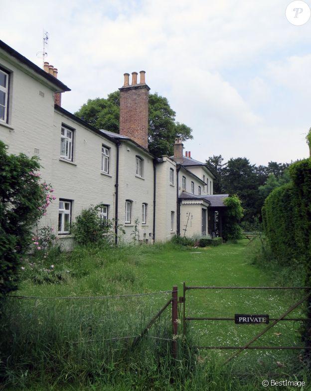 Le Frogmore Cottage avant ses travaux de rénovations. Le prince Harry et Meghan Markle y ont emménagé au printemps 2019, avant de partir vivre en Californie.