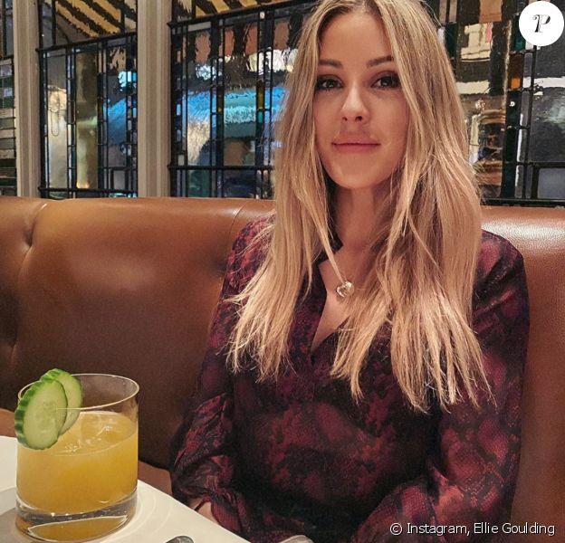 Ellie Goulding. Février 2020.