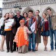 """Lucie Jeanne; Mimie Mathy et le casting de la série """"Joséphine, Ange Gardien"""""""