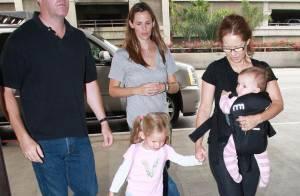 Jennifer Garner : toujours prête à jouer les filles de l'air... avec ses filles !