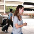 Jennifer Garner  (aéroport de LAX à Los Angeles, 1er septembre 2009)