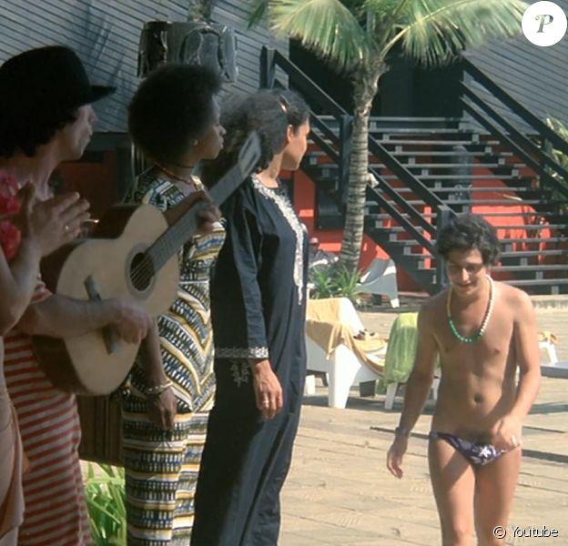 """Le film """"Les Bronzés"""" de Patrice Leconte, sorti en 1978. Le lieu du tournage, le club de vacances d'Assouindé, en Côte d'Ivoire, est aujourd'hui en ruines."""