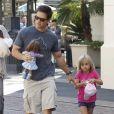 Mark Wahlberg et sa fille Ella