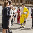 Le roi Carl Gustav et la reine Silvia de Suède ont été reçus par le roi Jigme Khesar Namgyel Wangchuck et la reine Jetsun Pema lors de leur voyage officiel au Bhoutan. Le 8 juin 2016