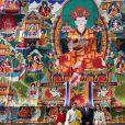 Le prince William, duc de Cambridge, et Kate Catherine Middleton, duchesse de Cambridge, arrivent à la cérémonie de bienvenue au monastère Tashichhodzong à Thimphu, à l'occasion de leur voyage au Bhoutan. Le couple princier sera reçu en audience privée par le roi Jigme Khesar Namgyel Wangchuck et la reine Jetsun Pema. Le 14 avril 2016