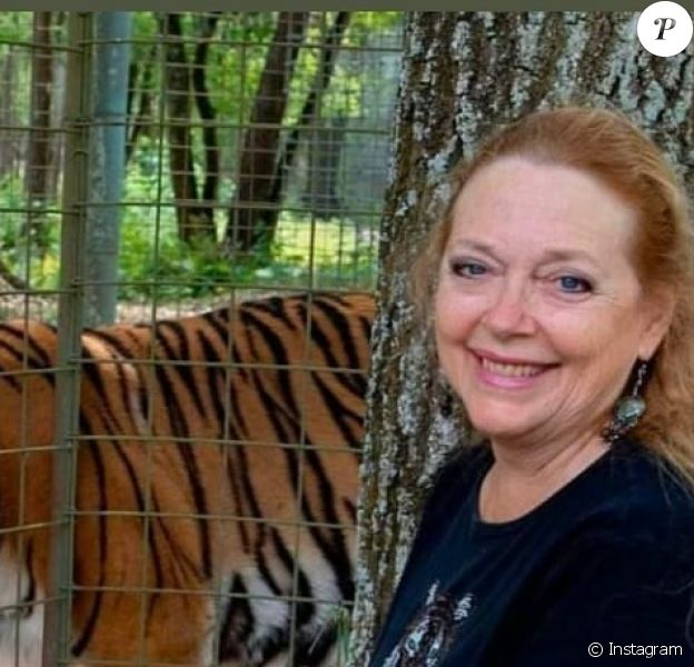 Carole Baskin, l'ennemie jurée de Joe Exotic, a récupéré la direction de son ancien parc animalier où il torturait des grands félins, le 1er juin 2020.