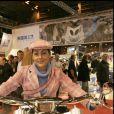 Hermine de Clermont-Tonnerre au mondial des deux roues au Parc des expos à Paris, en 2007