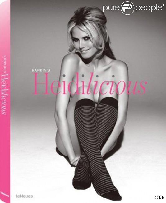 Heidi Klum en couverture du livre Heidilicious