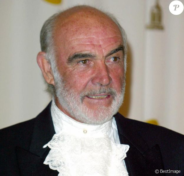 Sean Connery aux Oscars en 2003.