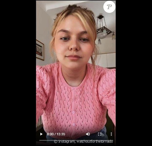 Louane (Emera) s'est confiée sur la naissance de sa fille Esmée lors d'un live sur Instagram le 9 juin 2020.