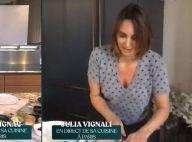 Julia Vignali : Son compagnon Kad Merad vole à son secours en plein direct