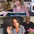 """Julia Vignali et Kad Merad dans """"Tous en cuisine"""", le 11 juin 2020, sur M6"""