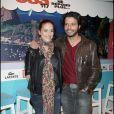 """Audrey Dana et Mabrouk El Mechri - Première du film """"OSS 117, Rio ne répond plus"""" à Paris en 2009."""