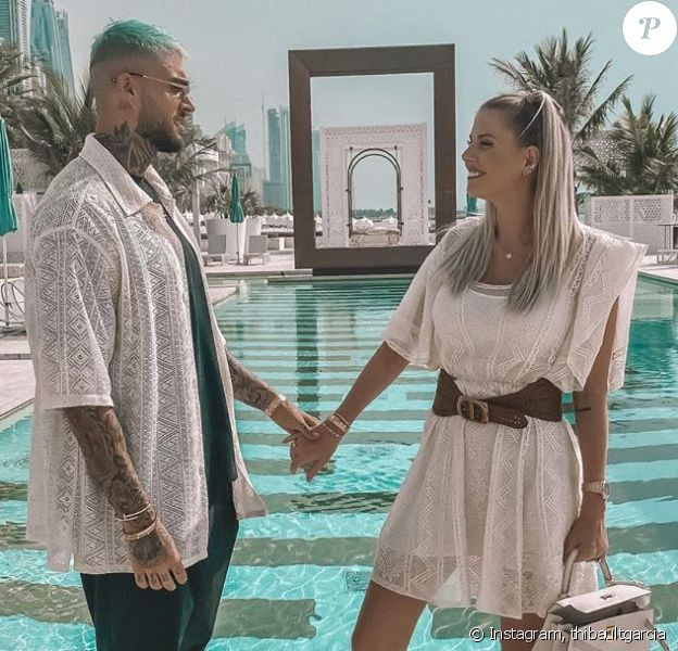 Thibault Garcia et Jessica Thivenin amoureux sur Instagram, le 20 mai 2020