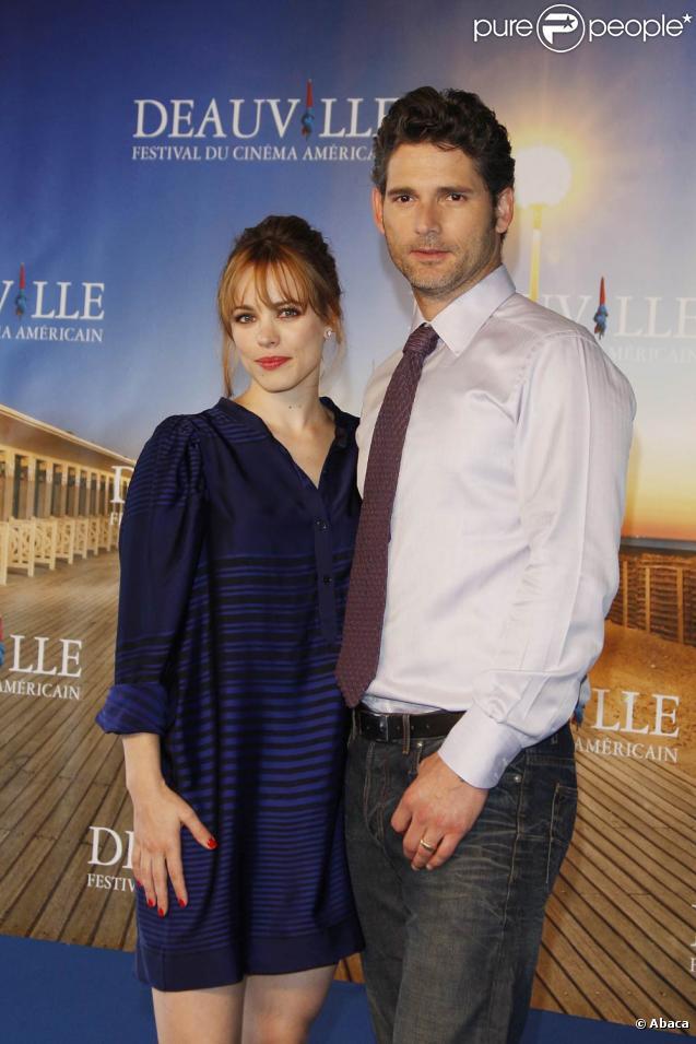 Rachel McAdams et Eric Bana, à l'occasion de la présentation de  Hors du temps , lors du 35e Festival de Deauville, le 5 septembre 2009 !