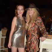 Lindsay Lohan : Sa mère Dina est fiancée à son chéri rencontré sur internet