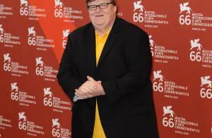 Le trublion Michael Moore dénonce l'Amérique capitaliste... lors de la 66e Mostra ! Regardez !
