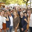 Alexandre Fabre, David Marchal, Laurie Bordesoules, Stéphane Hénon, Marie Hennerez, Thibaud Vaneck, Eléonore Sarrazin, Jérome Bertin PLUS BELLE LA VIE - 21ème édition du Festival de la Fiction TV de La Rochelle. Le 14 septembre 2019 © Christophe Aubert via Bestimage