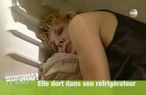 Cette femme dort dans son frigo pour rester jeune ! Regardez cette vidéo !