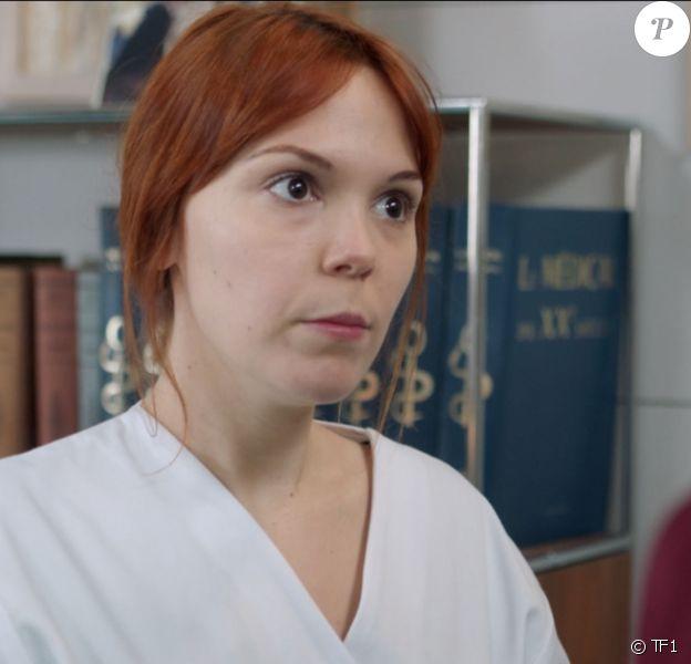 """Marion Christmann joue Amanda Faro dans la série """"Demain nous appartient"""", sur TF1."""