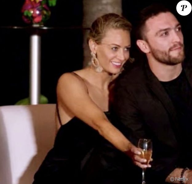 """Jessica et Mark dans """"Love is Blind"""", disponible sur Netflix depui janvier 2020."""