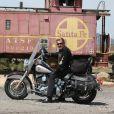 Exclusif - Road trip de Johnny Hallyday le long de la route 66 en Californie en Août 2007. © Stephane Kyndt