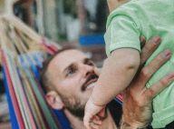 M. Pokora enfin de retour en France, et avec son fils Isaiah