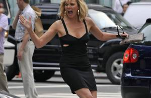 Sex and The City 2 : quand Kim Cattrall s'en prend à un automobiliste... c'est violent  !
