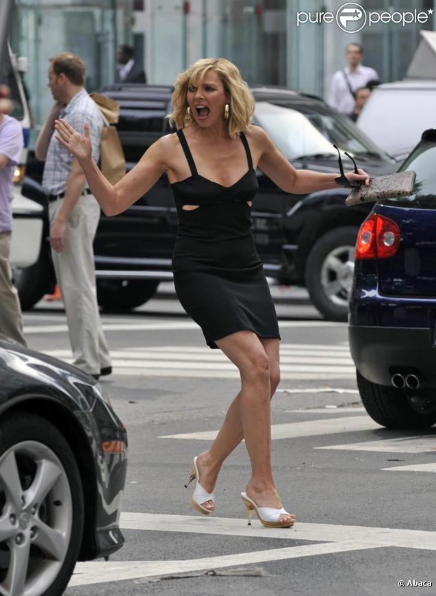 Kim Cattrall fait encore des siennes sur le tournage de Sex and The City 2